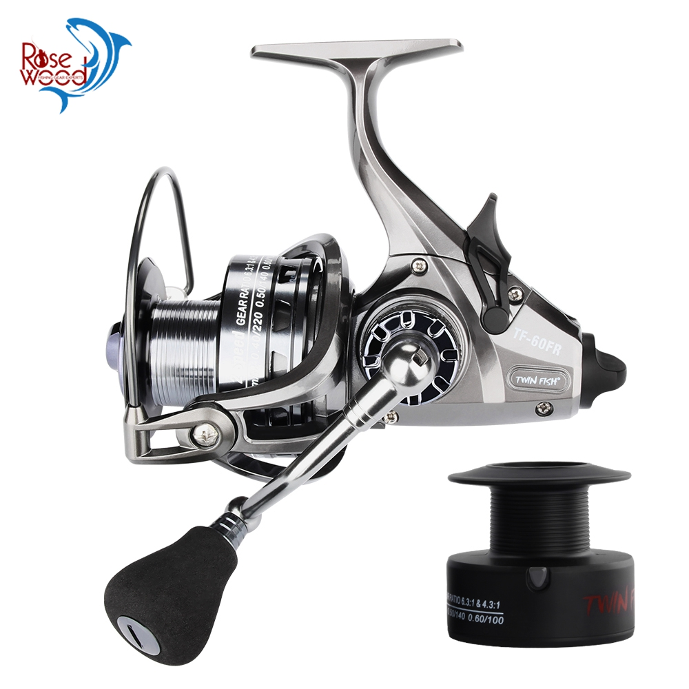 RoseWood New 2 Speed Spinning Reels 12 1 S S Ball Bearings Both Front And Rear