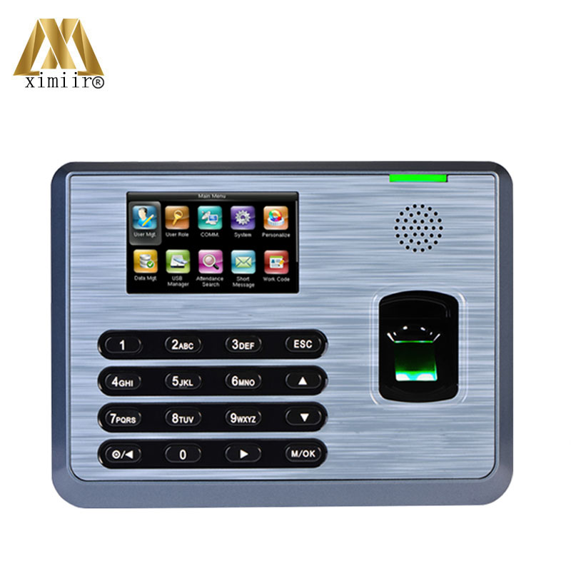 Hot ! ZK TX628 Fingrprint Time Attendance Time Clcok With TCP/IP USB Communition Biometric Fingerprint Time Recording