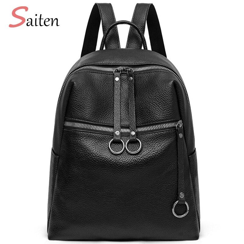 bef4e6bcfa13 Купить Высокое качество из искусственной кожи Для женщин рюкзак модные  однотонные школьные сумки для девочек подростков Повседневное Для женщин .