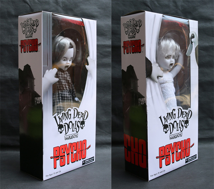 цена Mezco Living Dead Dolls Presents Alfred Hitchcock Horror Film Psycho Marion 11