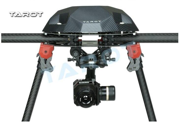 Tarot métal efficace FLIR caméra de cardan d'imagerie thermique 3 axes CNC cardan pour Flir VUE PRO 320 640PRO TL03FLIR - 6