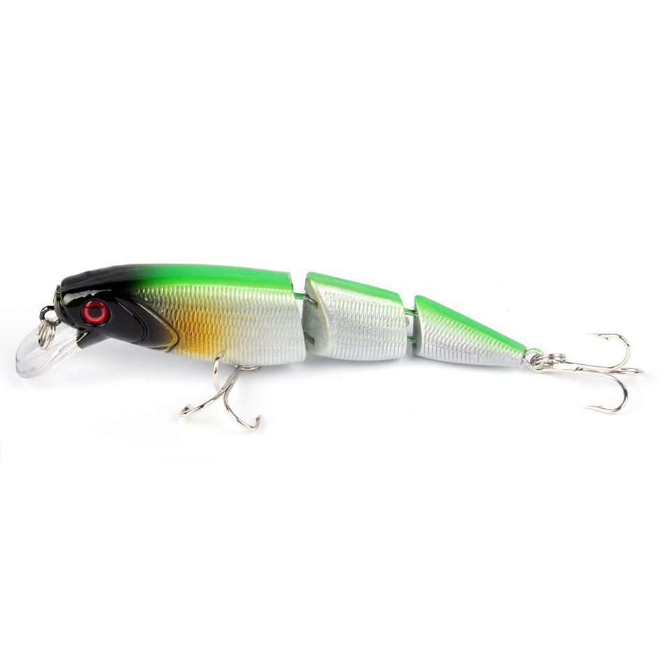 1Pcs Fishing lures Hard Baits Floating Minnow Artificial Wobblers Crankbait 3D Eyes 3 Sections Pesca Isca Lure 10.5cm 15g amlucas minnow fishing lure 110mm 9 5g crankbait wobblers artificial hard baits pesca carp fishing tackle peche we266