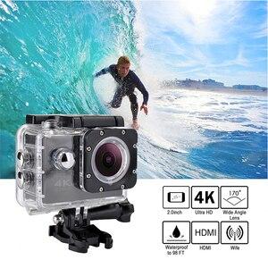 Image 2 - Tekcam F60R 4K WIFI Điều Khiển Hành Động Từ Xa Camera 1080P HD 16MP Đi PRO Style Cam 30 Mét Không Thấm Nước thể Thao Camera