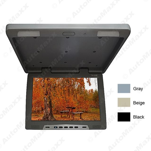 """3-Color 19 Telhado """"Montado LCD Monitor de Ônibus Ônibus Carro TFT LCD Flip Down Monitor com Transmissor IR # J-1297"""
