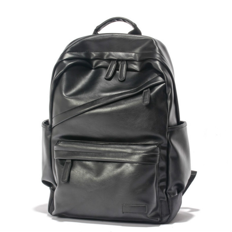 Famous Brand Preppy Style Leather School Backpack Bag for College Student Simple Design Men Casual Daypacks Mochila Male New miwind famous brand preppy style leather school backpack bag for college simple design travel leather backpack bags tlj1082