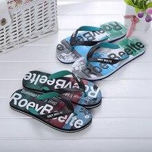Мужская Летняя разноцветная обувь; сандалии; мужские шлепанцы; Домашние или уличные Вьетнамки;# A40