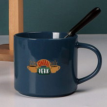 Classic Tv Shows Friends Mugs Large Capacity Porcelain Tea Coffee Cup Gift for  - 450ml/15oz