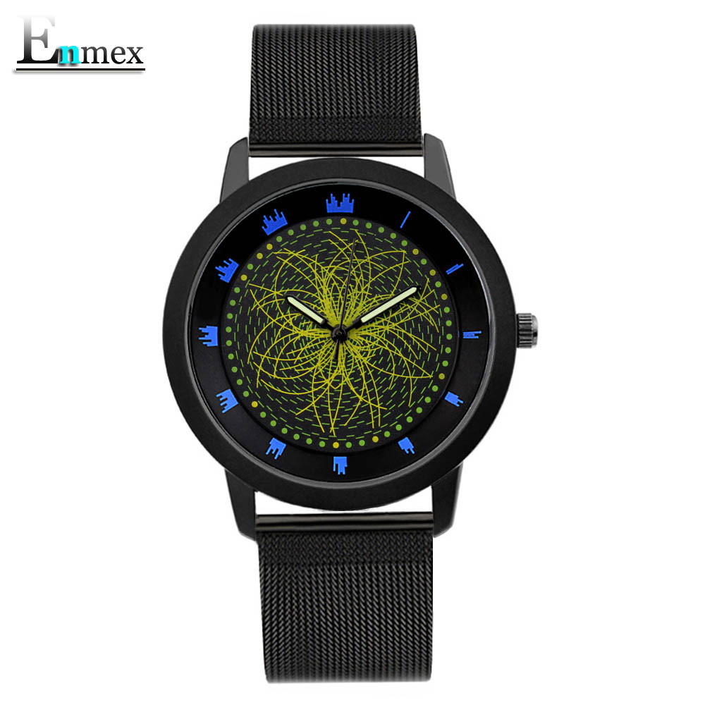 2017gift Enmex cool style wristwatch star orbital concept star light the story of the Starry sky