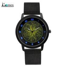 2017 cadeau Enmex style cool montre-bracelet étoiles orbitale concept étoiles lumière l'histoire de la Étoilé ciel casual quartz mode montre