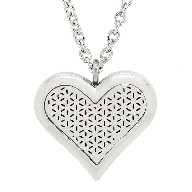 Besplatno s lancem kao poklon! Vruća ogrlica od 35 mm velikog srca - Modni nakit - Foto 5