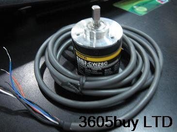 Solid Shaft Rotary Optical Encoder Outer Diameter 38 Shaft 6MM TRD-S1000A