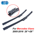 OGE Wipers For Mercedes Viano 2005 Onwards 28''+26''R Rubber Windscreen Blades Promotions Best Auto Accessories CPB115