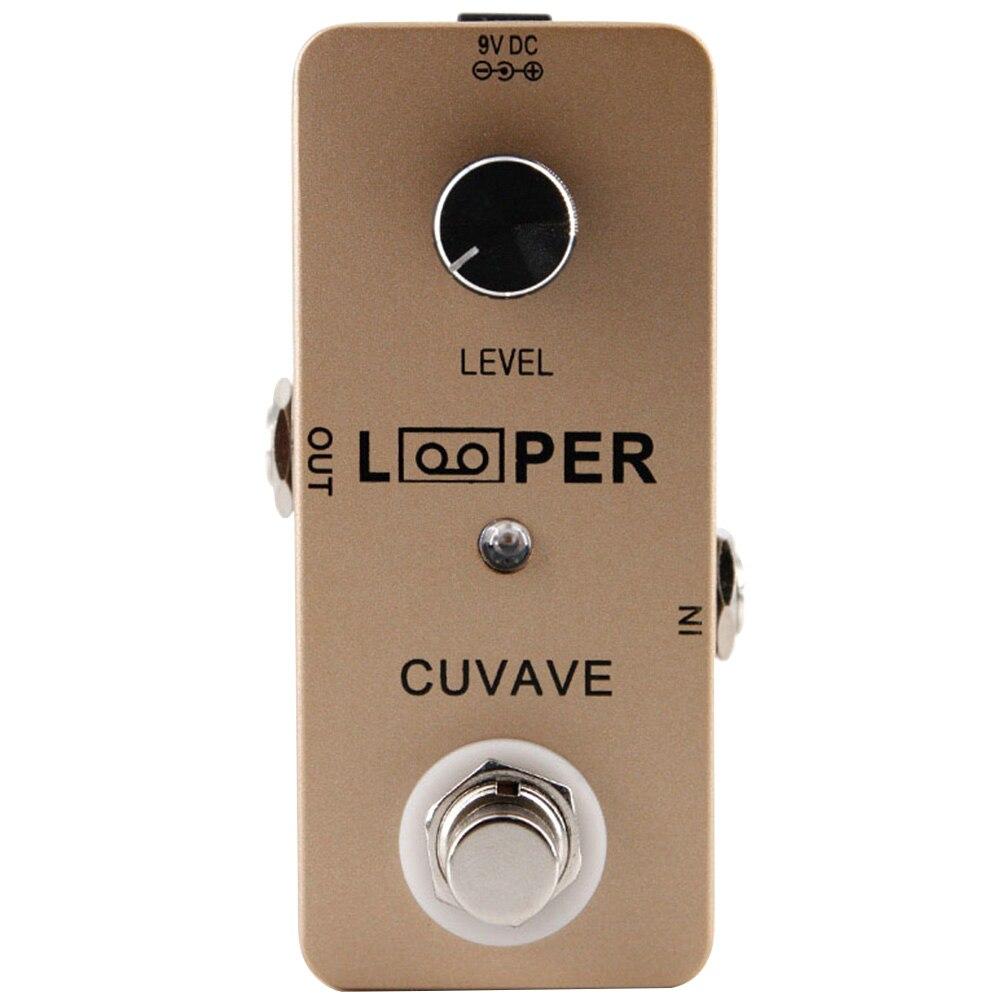 Mini guitare multi-piste anti-bruit Portable effet pendentif Excellent état boucleur USB électronique indicateur LED boucle Station
