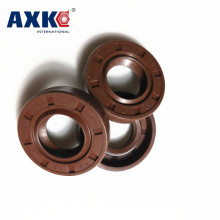 AXK 1PCS  15x30x5/7/10 15x32x7 Viton FKM Fluorine Rubber Spring Two Lip TC Ring Gasket Radial Shaft Skeleton Oil Seal