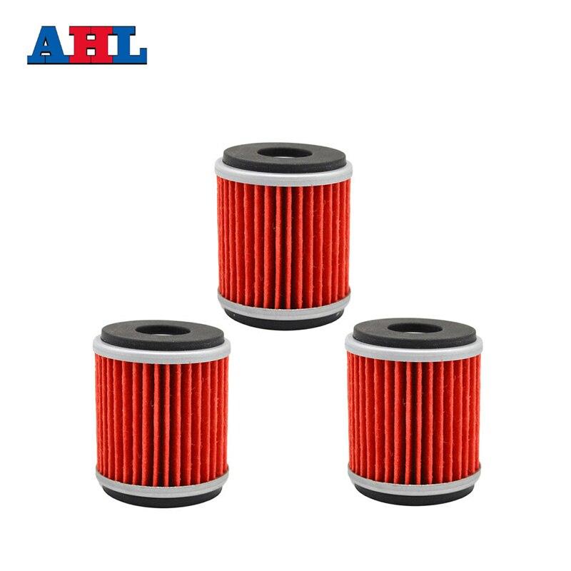 3Pcs Motorcycle Engine Parts Oil Grid Filters For YAMAHA WR250R 250R YFM250R RAPTOR YFZ450R 449 YZ250F Motorbike Filter
