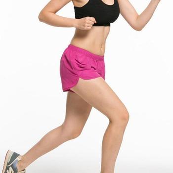 CKAHSBI Summer Exercise Gym Shorts Women Yoga Shorts Professional Sports Running Black Low Waist Workout Black Training Shorts 5