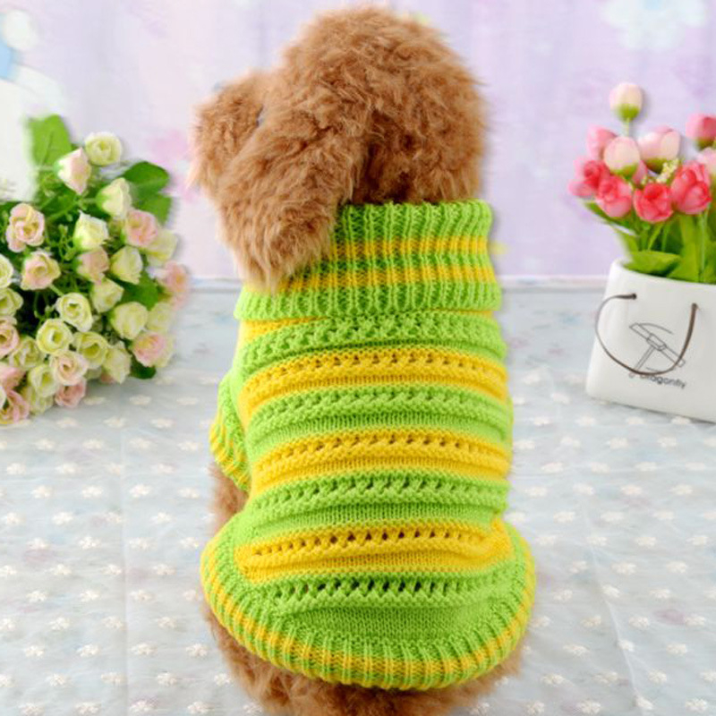 These free knit dog sweater patterns are so precious! Keep man's best friend nice and warm with these pet-friendly knits.