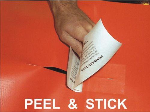 5pcs 7.6*7.6cm Tear Aid Pool Inflatable Boat Seat Repair REPAIR Type A B