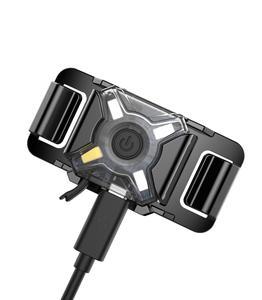Image 3 - NITECORE NU05 LE Mini Signal Headlamp 4* Red Green Blue White LEDs USB Charging Outdoor Sports Headlight Built in li ion battery