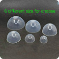 1/3 1/4 1/6 1/12 BJD Silicone Headgear for BJD doll Silica Gel Hair wigs Cover 6 Sizes for Choose