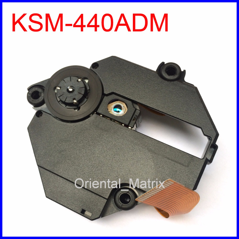 Free Shipping Original KSM-440ADM Optical Pick Up For Sony Playstation 1 PS1 KSM-440 With Mechanism Optical Pick-up replacement laser lens pick up drive for sony ps1 playstation one ksm 440adm 440bam 440aem optical repair part