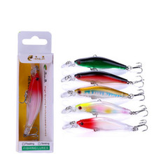 New Boutique Bait 8cm/6g Minor Lure Road Fishing Floating Diving Hard