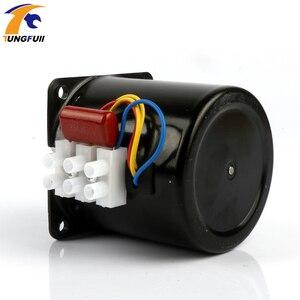 Image 5 - 60Ktyz Ac Permanente Magneet Synchrone Motor 220V Gear Motor Miniatuur Lage Snelheid Grote Koppel Kleine Motor
