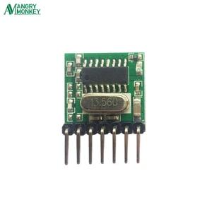 Image 3 - 5 חתיכות 433 Mhz Superheterodyne RF אלחוטי משדר מודול 1527 קידוד EV1527 קוד רחב מתח 3V 24V עבור שלט רחוק
