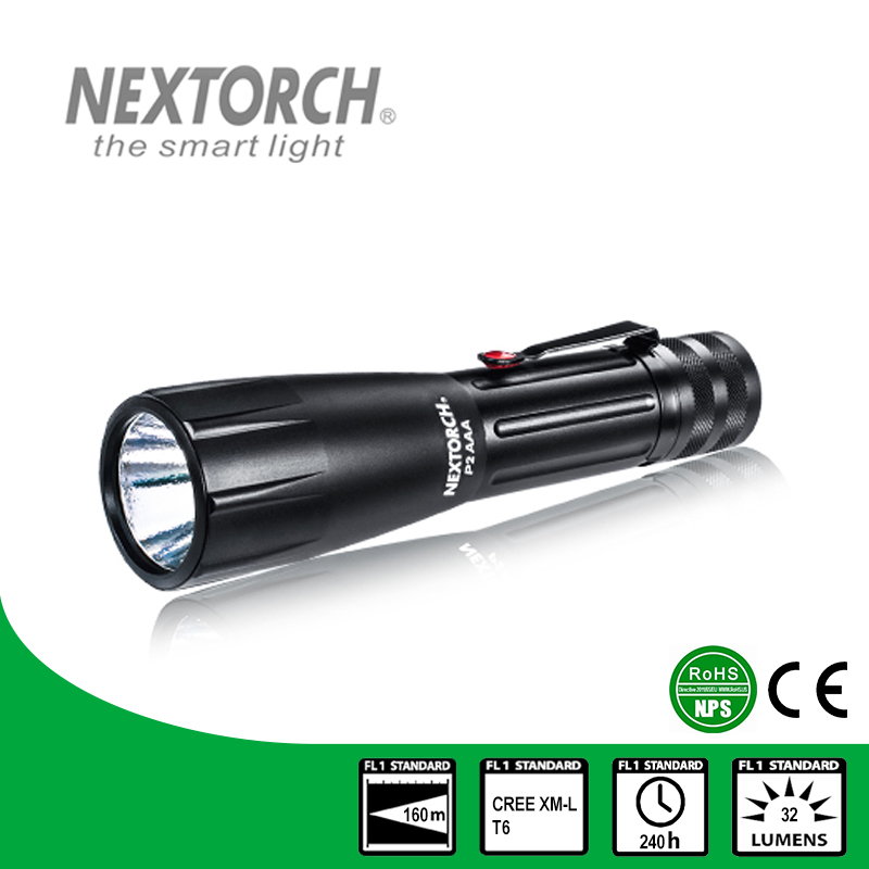 NEXTORCH Flashlights Shock Resistant Tactical CE RoHS Standard Adjustable Waterproof 5-8 Files Hard Light Flashlights # P2AAA nextorch ta3 set