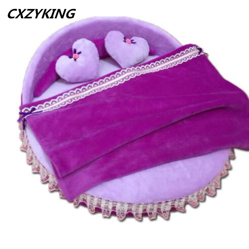 CXZYKING Mini Dollhouse Furniture Doll Bed+Pillow+Blanket Accessories For Doll Barbie Doll House Toys Hot mini doll house accessories simulation mini suitcase life scene ornaments model