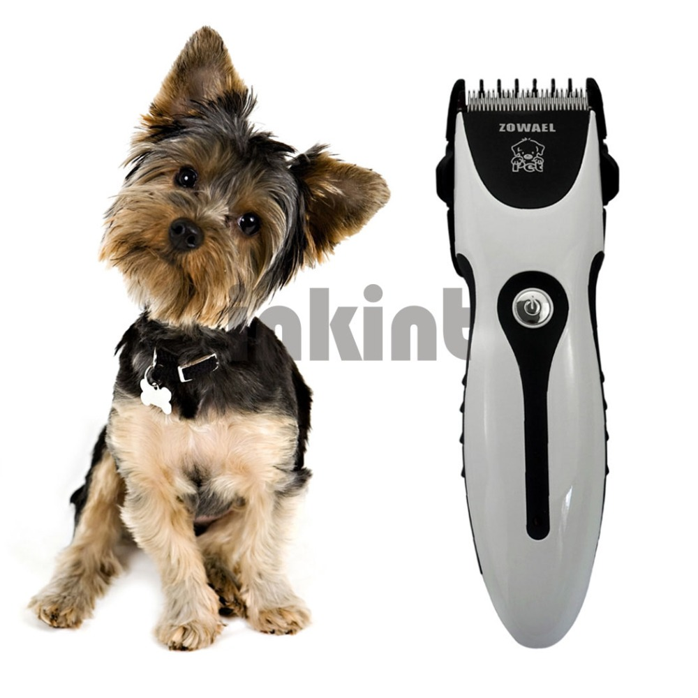 Rechargeable Cat Dog Hair Trimmer Electrical Pet Hair Clipper Remover Cutter Dog Grooming Pet Product Haircut Machine RCS06Q 47Z rechargeable hair clipper with accessories set 220 240v ac