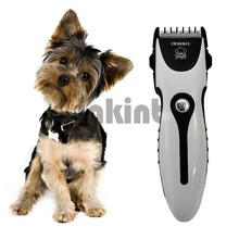 Rechargeable electric dog hair trimmer / clipper machine
