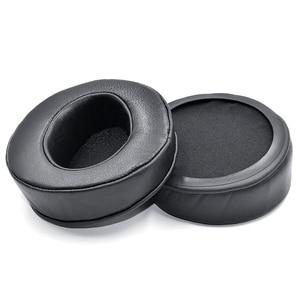 Image 2 - זווית אמיתי עור אוזן רפידות כרית earpad עבור Sony MDR Z7 Z7M2/Fostex TH600 TH900 אוזניות