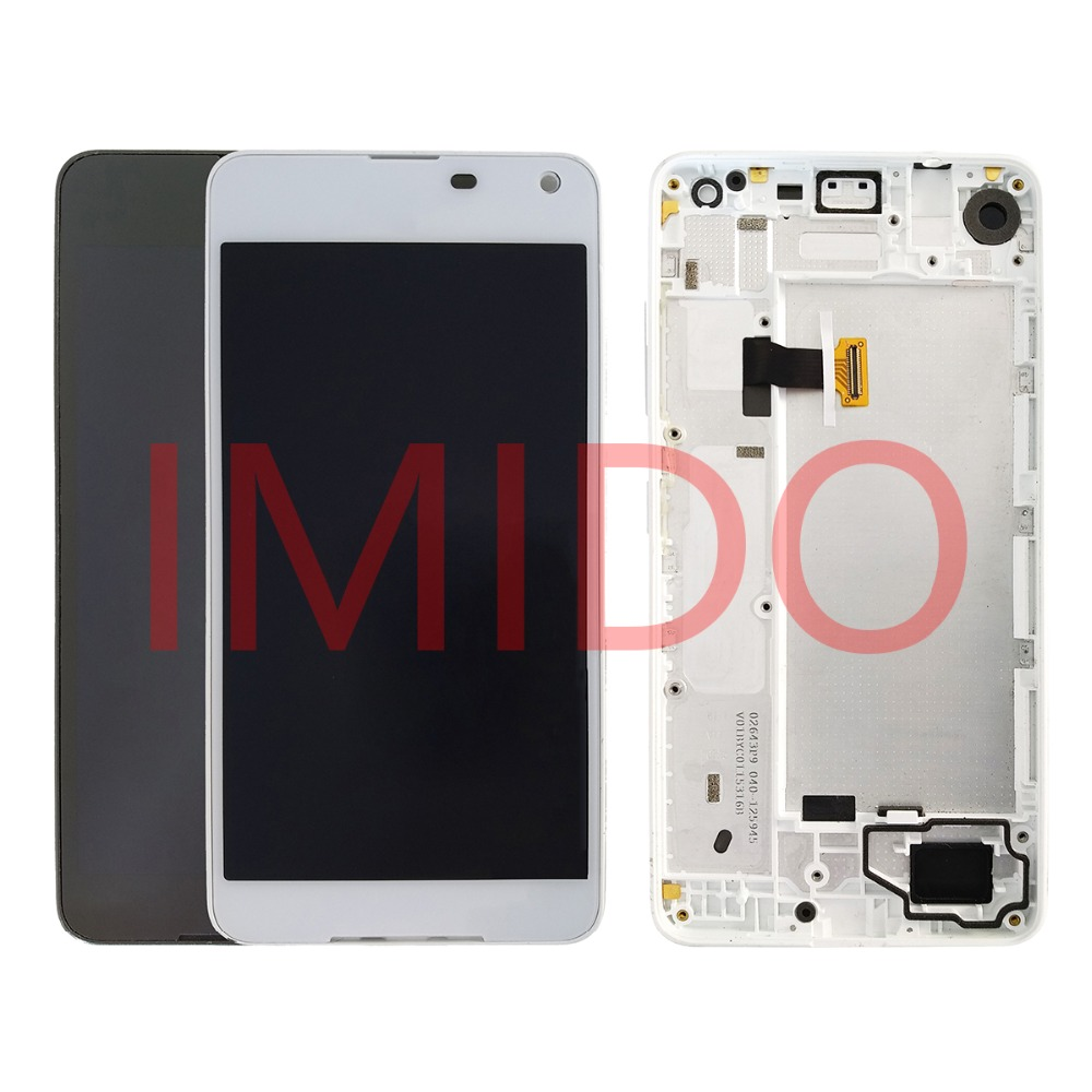 For Nokia Lumia 650 RM-1152 RM-1154 RM-1109 RM-1113 LCD Display+Touch Screen Digitizer Assembly+Frame Replacement Parts