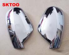 Fit For 2004-2012 Peugeot 307 CC SW 407 Door Side Wing Mirror Chrome Cover Rear View Cap Accessories 2pcs per Set Car Stying стоимость