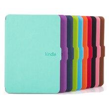Zimoon Manera Delgada Cubierta Para Amazon Kindle Paperwhite 1/2/3 Caso de Cuero Ereader 6′ Para Kindle Paperwhite con Protector de Pantalla