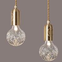 New Crystal LED Chandelier Suspension Pendant from Lee Broom Lighting Fixture Hanging Lamp for Restaurant Dining Room Hotel