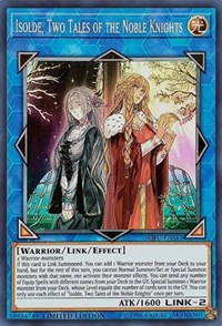 Yu Gi Oh Original SR The Pursuit Of The Paladin Isolde