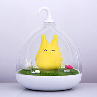 Creative Lovely Birdcage LED Night Light Touch Sensor control USB Rechargeable Dimmable handlamp Portable Nightlamp Kid gift toy