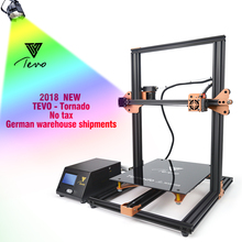 TEVO Tornado 3D Printer Kit Impresora 3D Fully Assembled 3D Printer Full Aluminium Frame With Titan Extruder Large Printer DIY