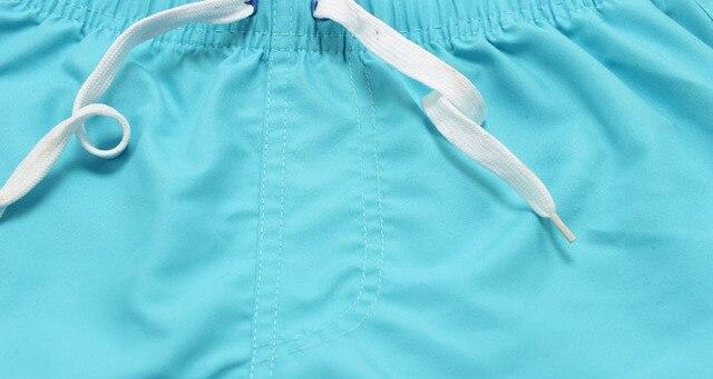 Summer Board shorts men casual solid Mid Beach shorts fashion printed Waist shorts man Straight Drawstring shorts S-XXL Hot sale 2