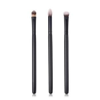 High Quality 3PCS Brushes Sets Wood EyeShadow Brush Cosmetics Blending Beauty Makeup Brush Tool Pincel Maquiagem Drop Shipping Health & Beauty