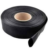 1 метр диаметр 30 мм черная или прозрачная Термоусаживаемая оболочка Защита окружающей среды огнестойкая Термоусаживаемая трубка