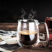 250ml Heat-resistant Double Wall Glass Cup