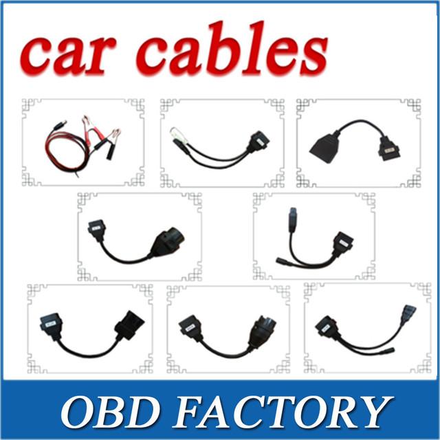 OBD2 Cabo de Diagnóstico De Cabos Para TCS CDP Pro plus carro VD Ferramenta de Interface 8 pçs/set cabo para o carro para o wow bisbilhoteiro e multidiag