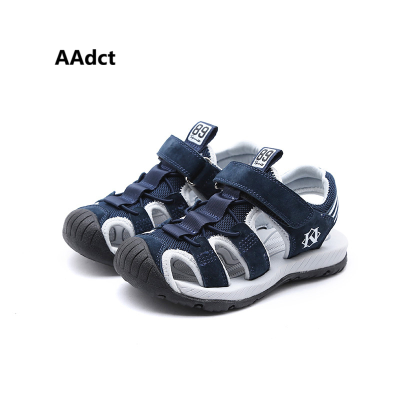 AAdct 2018 summer new Boys sandals casual comfortable kids sandals for boys Anti-kick so ...