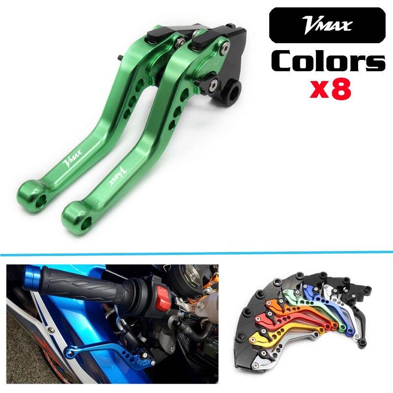For Yamaha FJ1200 FZ 750 VMX-12 Vmax 1200 Alumiunum Adjust CNC Motorcycle Short Levers Moto Clutch Brake Levers