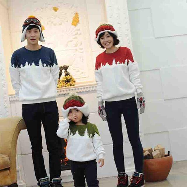 Семья одежда рубашка для матери и дети повседневная рубашка с длинным рукавом пуловер мода рубашка для отца и сына матч топы