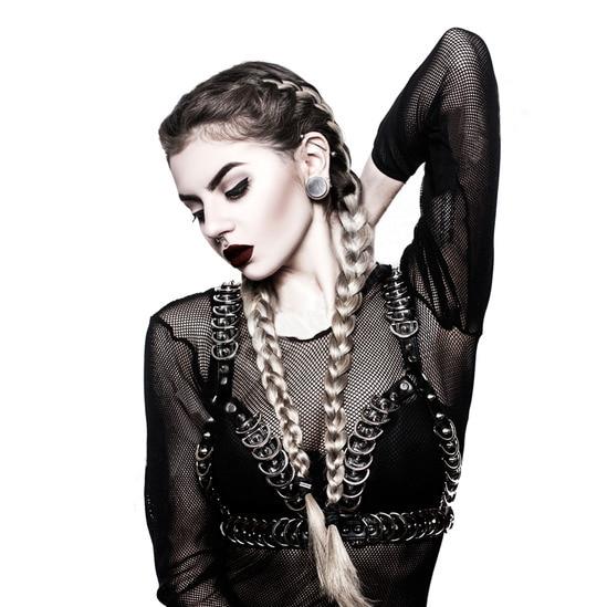 Ceintures de designer pour femmes gothiques punk fête cuir harnais ceintures nouvel accessoire SEXY pour lingerie