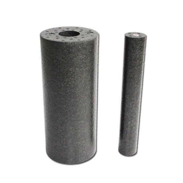 US $9 48 24% OFF|2pcs/set 33x 14cm EPP Foam Roll High Fitness Massage  Roller Exercise Balance Yoga Brick Block Gym Equipment Black Sports-in Yoga